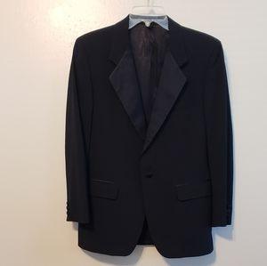 Givenchy tuxedo jacket, hard stitched